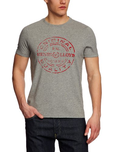 Henri Lloyd Felucca Regular Men's T-Shirt Grey Marl XX-Large