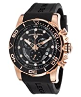 Swiss Legend Men's 21368-RG-01 Avalanche Analog Display Swiss Quartz Black Watch by Swiss Legend