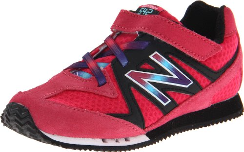 New Balance KV542 Classics Running Shoe (Infant/Toddler),Pink,8 W US Toddler