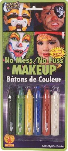 Rubies No-Mess Make Up Crayons, 6-Color