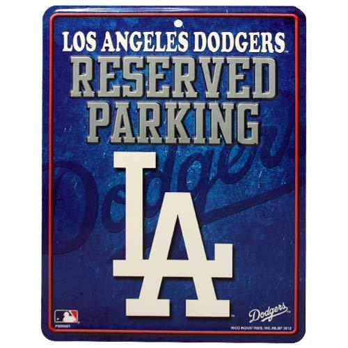 MLB Los Angeles Dodgers Parking Sign