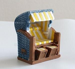 maritime deko strandkorb blau gelb k che. Black Bedroom Furniture Sets. Home Design Ideas