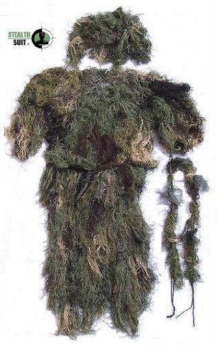 StealthSuit Ghillie Set - Woodland Medium-XLarge