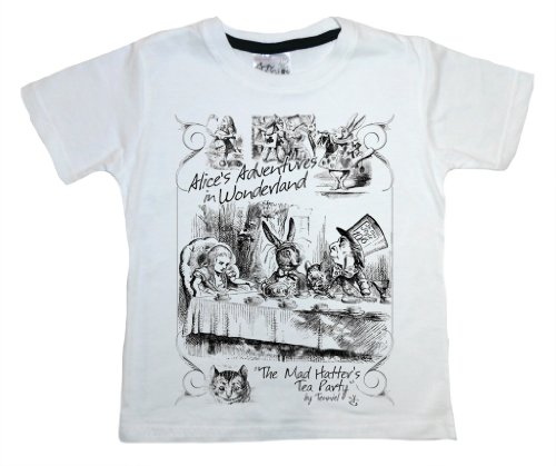 Dirty Fingers, Hatter's Tea Party Alice's Adventures in Wonderland, Child's T-shirt