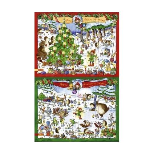 Jeden Tag ein neues Pixibuch - der Adventskalender für kleine Leseratten