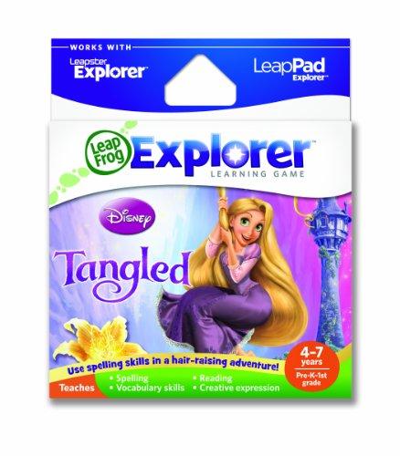 Leapfrog Leapster/LeapPad Explorer Tangled Disney's Story of Rapunzel Game