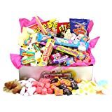 Retro Sweet Shop Gift Box by Chewbz, filled with 1.45kilos of classic sweetshop retro sweets including black jacks, fruit salads, parma violets and more. Fantastic value and a perfect present for retro sweet fans