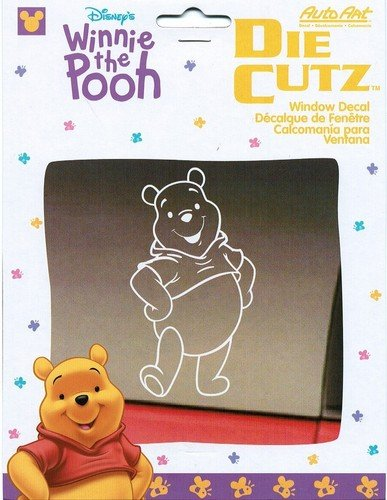 Disney Winnie the Pooh Vinyl Car Window Decal (Pooh Car Window Decal compare prices)
