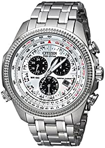 Citizen Men's BL5400-52A Eco-Drive Stainless Steel Sport Watch with Link Bracelet