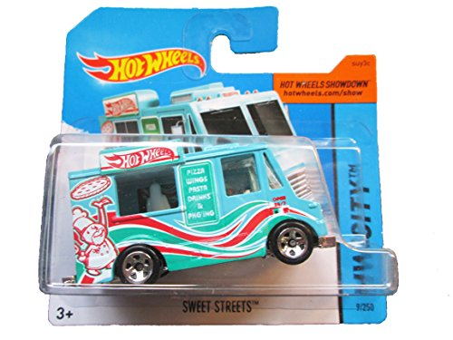 Hot Wheels - 2014 HW City 9/250 - Sweet Streets on Short Card