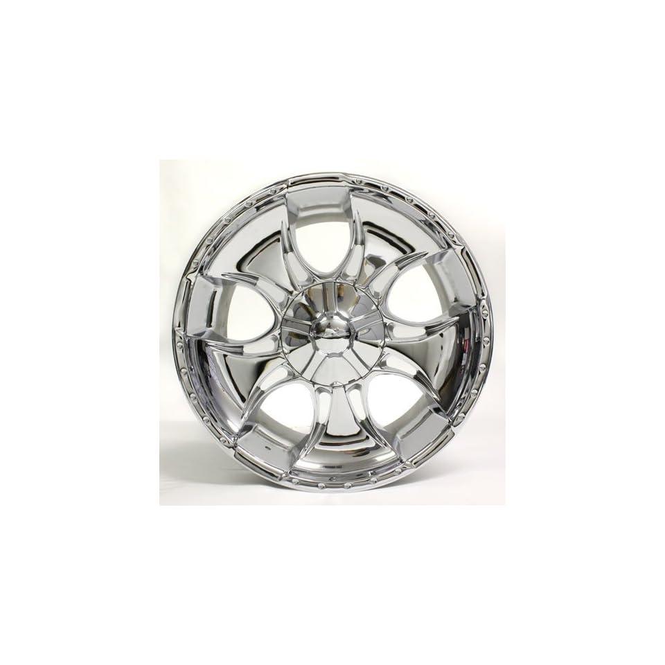 20 Kmc V2 Wheel Rim Chrome