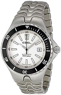 Ebel Men's 1215462 Sportwave Diver White Dial Watch by Ebel