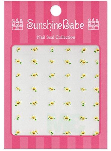 SunshineBabe ネイルシール デイジー ホワイト