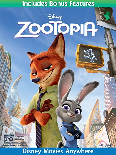 Zootopia (Plus Bonus Features)