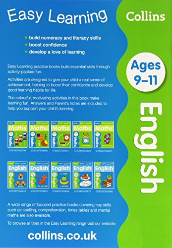English Ages 9-11 (Collins Easy Learning KS2)
