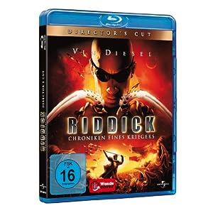 Riddick-Chroniken Eines Kriegers Direc [Blu-ray] [Import allemand]