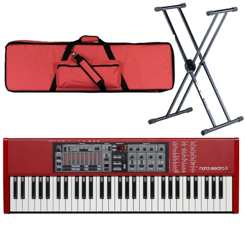 1 Nord Electro 3 61 Sixty One SixtyOne Bundle