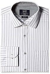 Basics Men's Formal Shirt (8907054638109_15BSH32284_XL_Navy)