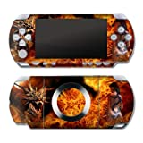 PSP Slim & Lite  Designerskin  Dragon Breath