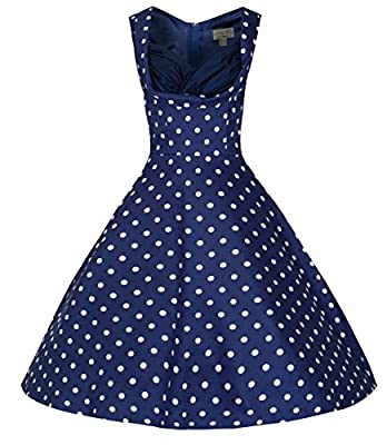 Lindy Bop 'Ophelia' Vintage 1950's Polka Dot Party Picnic Dress