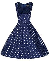 Lindy Bop 'Ophelia' Vintage 1950's Polka Dot Party Picnic Dress