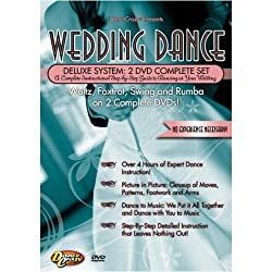 DanceCrazy Presents: The Wedding Dance Deluxe System (2 DVD Instructional Set)