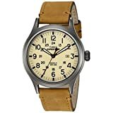 Timex Men's Expedition Scout Natural/Tan Leather Strap Watch