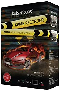 Kaiser Baas Game Recorder - (PS3, Xbox 360 and Nintendo Wii compatible)