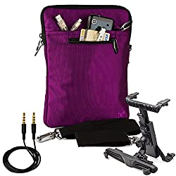 Vg Inc Messenger Bag (Purple)