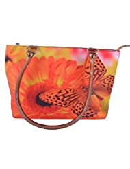 Tribal Zone Tribal Zone Graphic Shoulder Bag Butterfly