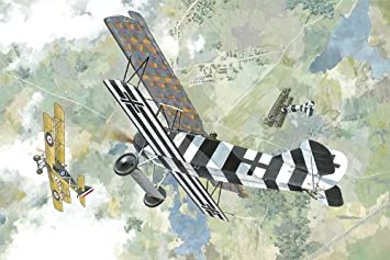 Roden 415 Fokker D.VII (early) 1:48 Plastic Kit Maquette