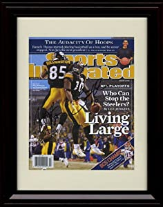 Framed Santonio Holmes Nate Washington Sports Illustrated Autograph Print -... by Framed Sport Prints