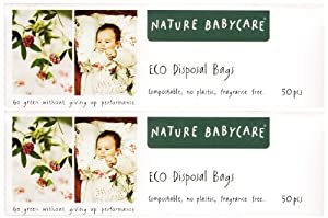 Nature Babycare Diaper Disposal Bags - 50 ct