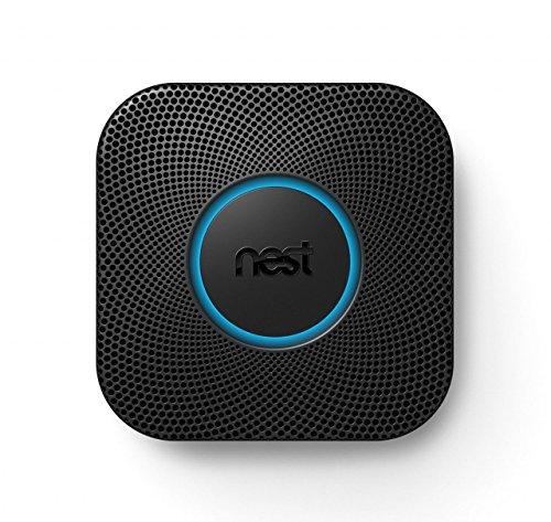 Nest Protect 2nd Gen Smoke + Carbon Monoxide Alarm, Wired, Black (Carbon Monoxide Detector Black compare prices)