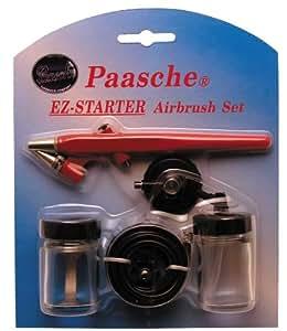 Paasche EZ-STARTER Single Action Beginner Airbrush Kit