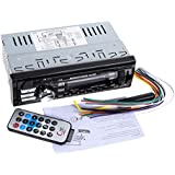 Rrimin 12V Car Radio Player Car Audio Auto Stereo FM Receiver MP3 Remote Control