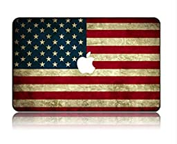 Customized Creative The American Flag Series Special Design Water Resistant Hard Case for Macbook Pro 13\
