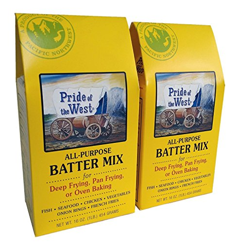 Pride of the west all purpose batter mix 2 pack food for Atkins cuisine all purpose baking mix where to buy