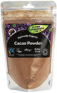The Raw Chocolate Organic Raw Cacao Powder 180g