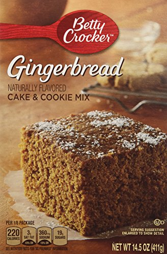 how to make gingerbread cookies from cake mix