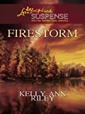 Firestorm (Love Inspired Large Print Suspense)