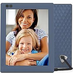 Nixplay Seed W08D 8-inch WiFi Digital Photo Frame (Blue)