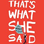That's What She Said | Mara Altman