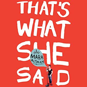 That's What She Said | [Mara Altman]