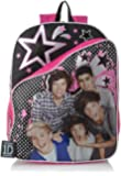 Accessory Innovations Big Girls'  One Direction Stars Backpack