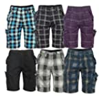 Brandit Check Iron Herren Short Bermu...
