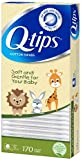 Q-Tips Cotton Swabs, Baby (Pack of 4)