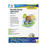 Adams Month-to-Month Rental Agreement Form, 8.5 x 11 Inch, White (LF255)