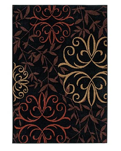 Carolina Weavers Fleur Medallions Indoor/Outdoor Rug