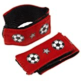 Sleeve Scrunchie (Red, Soccer)